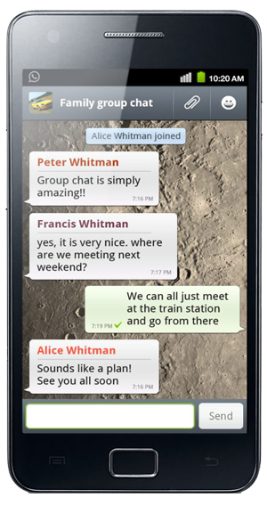 Whatsapp-Android-Chat